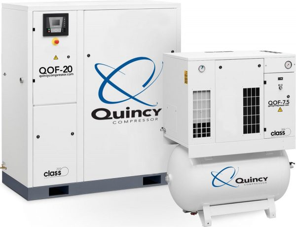 Compresores libres de aceite QOF