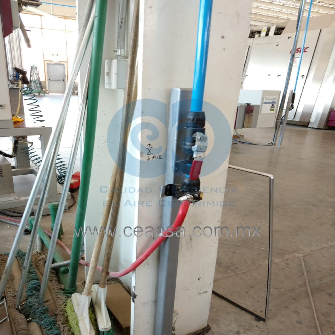 tubería de aluminio parker transair